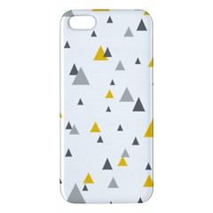Pastel Random Triangles Modern Pattern Iphone 5s Premium Hardshell Case by Dushan