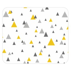 Pastel Random Triangles Modern Pattern Double Sided Flano Blanket (small)  by Dushan
