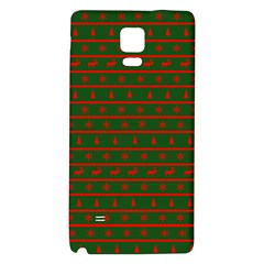 Ugly Christmas Sweater  Galaxy Note 4 Back Case by CraftyLittleNodes