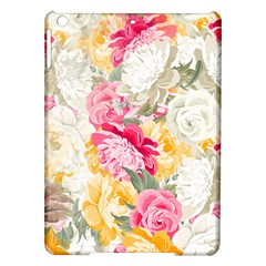 Colorful Floral Collage Ipad Air Hardshell Cases by Dushan