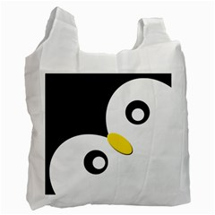 Penguin By X   Recycle Bag (two Side)   8oggcwn2iskw   Www Artscow Com Front