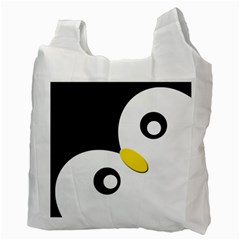 Penguin By X   Recycle Bag (two Side)   8oggcwn2iskw   Www Artscow Com Back