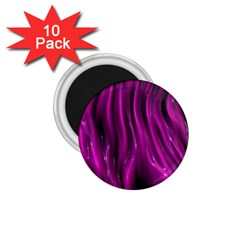Shiny Silk Pink 1 75  Magnets (10 Pack)  by MoreColorsinLife