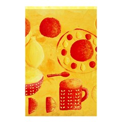 Lemons And Oranges With Bowls  Shower Curtain 48  X 72  (small)  by julienicholls