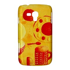 Lemons And Oranges With Bowls  Samsung Galaxy Duos I8262 Hardshell Case  by julienicholls
