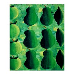 Apples Pears And Limes  Shower Curtain 60  X 72  (medium)  by julienicholls