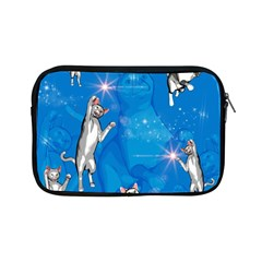 Funny, Cute Playing Cats With Stras Apple Ipad Mini Zipper Cases by FantasyWorld7
