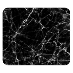 Black Marble Stone Pattern Double Sided Flano Blanket (small)  by Dushan