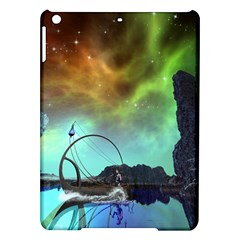 Fantasy Landscape With Lamp Boat And Awesome Sky Ipad Air Hardshell Cases by FantasyWorld7