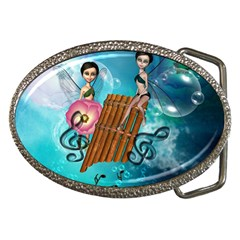 Music, Pan Flute With Fairy Belt Buckles by FantasyWorld7