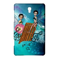 Music, Pan Flute With Fairy Samsung Galaxy Tab S (8 4 ) Hardshell Case  by FantasyWorld7