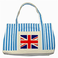 Brit5 Striped Blue Tote Bag  by ItsBritish
