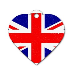 Brit5 Dog Tag Heart (Two Sides) by ItsBritish