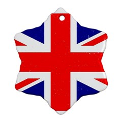 Brit5 Snowflake Ornament (2 Side) by ItsBritish