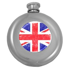Brit6 Round Hip Flask (5 oz) by ItsBritish