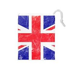 Brit6 Drawstring Pouches (medium)  by ItsBritish
