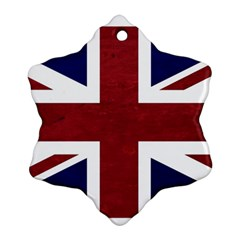 Brit8 Snowflake Ornament (2 Side)