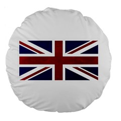 Brit8 Large 18  Premium Flano Round Cushions by ItsBritish