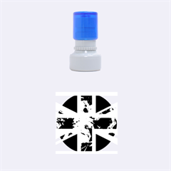 Brit9 Rubber Round Stamps (small) by ItsBritish