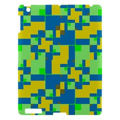 Shapes In Shapes Apple Ipad 3/4 Hardshell Case by LalyLauraFLM