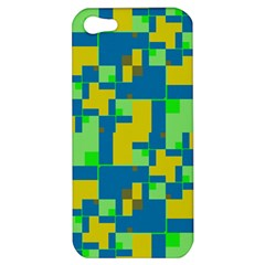 Shapes In Shapes Apple Iphone 5 Hardshell Case by LalyLauraFLM
