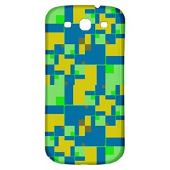 Shapes In Shapes Samsung Galaxy S3 S Iii Classic Hardshell Back Case by LalyLauraFLM