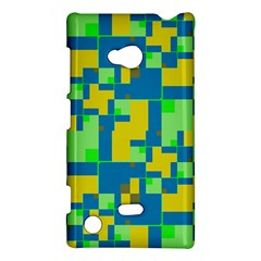 Shapes In Shapes Nokia Lumia 720 Hardshell Case by LalyLauraFLM