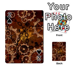 Steampunk In Rusty Metal Playing Cards 54 Designs  by FantasyWorld7