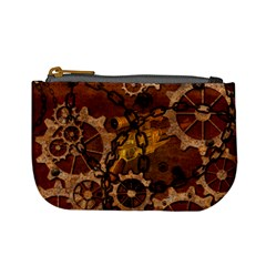Steampunk In Rusty Metal Mini Coin Purses by FantasyWorld7