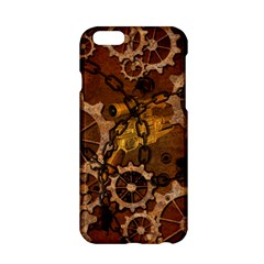 Steampunk In Rusty Metal Apple Iphone 6/6s Hardshell Case by FantasyWorld7