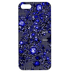Sci Fi Fantasy Cosmos Blue Apple Iphone 5 Hardshell Case With Stand by ImpressiveMoments