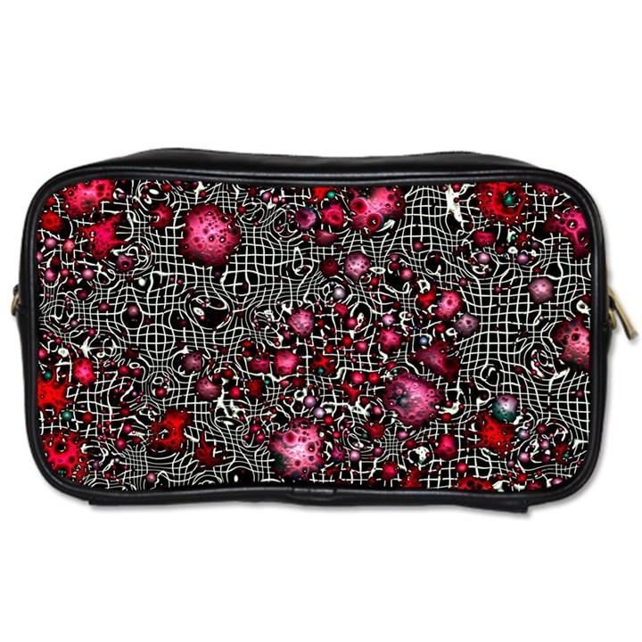Sci Fi Fantasy Cosmos Red  Toiletries Bags 2-Side