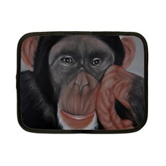 The Thinker Netbook Case (small)  by timelessartoncanvas