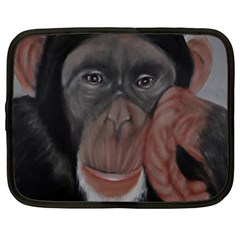 The Thinker Netbook Case (large)	 by timelessartoncanvas
