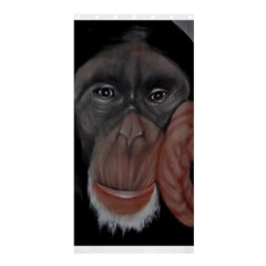 The Thinker Shower Curtain 36  x 72  (Stall)  by timelessartoncanvas