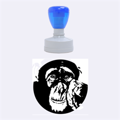 The Thinker Rubber Round Stamps (Medium) by timelessartoncanvas