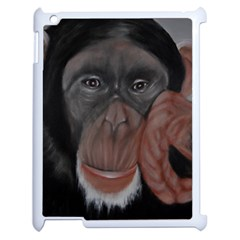 The Thinker Apple Ipad 2 Case (white) by timelessartoncanvas