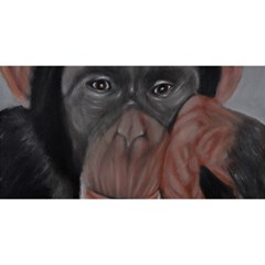 The Thinker You Are Invited 3d Greeting Card (8x4)