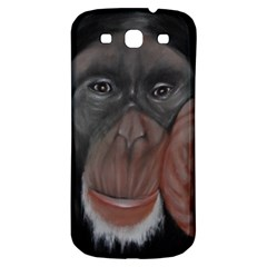 The Thinker Samsung Galaxy S3 S Iii Classic Hardshell Back Case by timelessartoncanvas