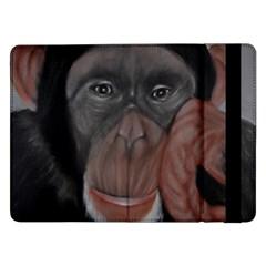 The Thinker Samsung Galaxy Tab Pro 12 2  Flip Case by timelessartoncanvas