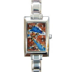 Triangles Rectangle Italian Charm Watches by timelessartoncanvas