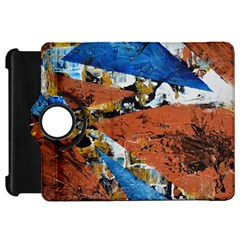 Triangles Kindle Fire Hd Flip 360 Case by timelessartoncanvas