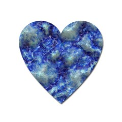 Alien Dna Blue Heart Magnet by ImpressiveMoments