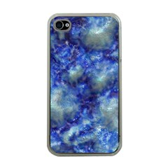Alien Dna Blue Apple Iphone 4 Case (clear) by ImpressiveMoments