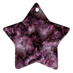 Alien Dna Purple Ornament (star)  by ImpressiveMoments
