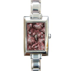 Alien Dna Red Rectangle Italian Charm Watches by ImpressiveMoments