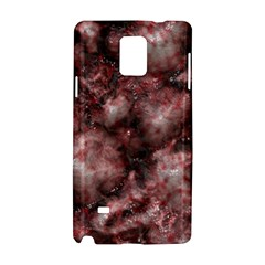 Alien Dna Red Samsung Galaxy Note 4 Hardshell Case by ImpressiveMoments