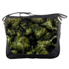 Alien Dna Green Messenger Bags by ImpressiveMoments