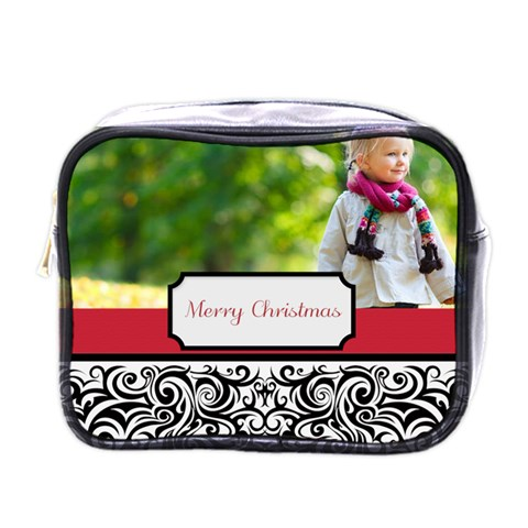 Xmas By May   Mini Toiletries Bag (one Side)   9p15iekvv0gn   Www Artscow Com Front