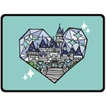 DIAMOND2 - Fleece Blanket (Large)
